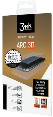 3MK ARC 3D Matte Coat Folia na przód tył boki do SAMSUNG GALAXY S8 G950