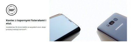 3MK ARC 3D SE Matte Coat Folia na przód tył boki do SAMSUNG GALAXY S8 G950