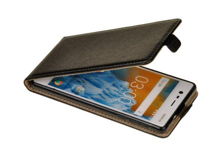ETUI KABURA FLEXI W3 do Nokia 3 / Nokia 3 Dual Sim czarny