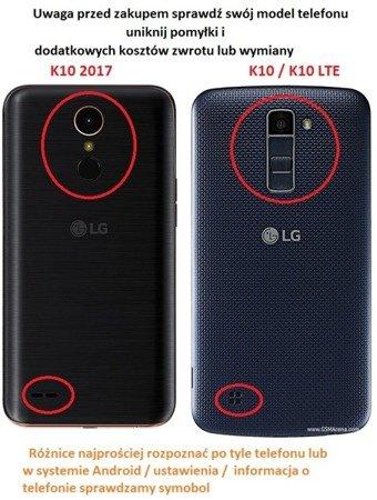 ETUI KABURA FLEXI do LG K10 2017 M250n fiolet
