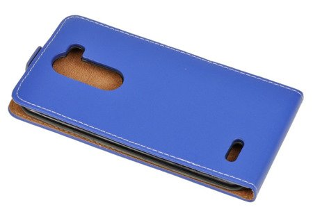 ETUI KABURA FLEXI do  LG X Mach K600 niebieski