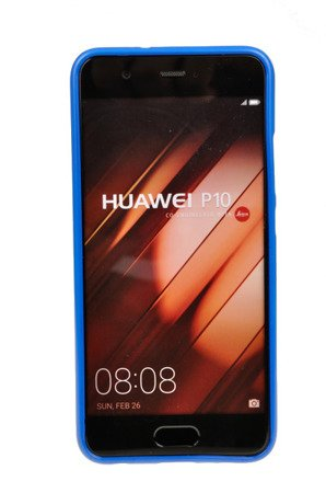 ETUI NAKŁADKA MERCURY GOOSPERY JELLY CASE do HUAWEI P10 niebieski