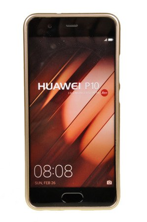 ETUI NAKŁADKA MERCURY GOOSPERY JELLY CASE do HUAWEI P10 złoty