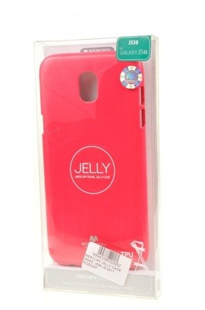ETUI NAKŁADKA MERCURY GOOSPERY JELLY CASE do SAMSUNG GALAXY J5 2017 J530 różowy