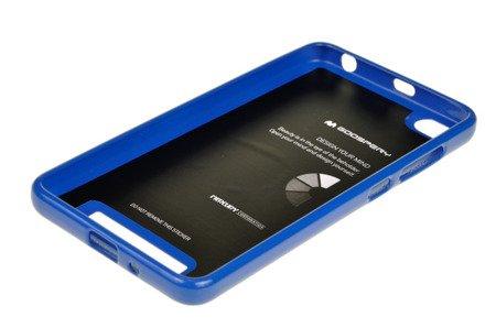 ETUI NAKŁADKA MERCURY GOOSPERY JELLY CASE do Xiaomi Redmi 4A niebieski