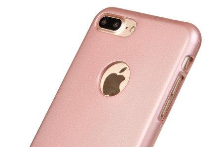 ETUI NAKŁADKA MERCURY GOOSPERY iJELLY CASE do APPLE iPhone 7 Plus / iPhone 8 Plus różowo-złoty