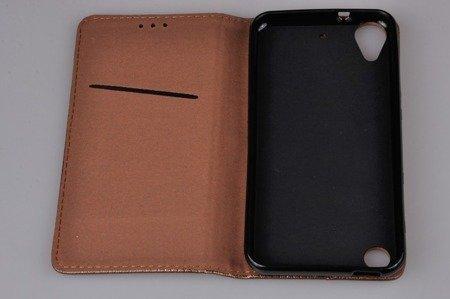 ETUI SMART W2 do HTC Desire 530 630  brązowy