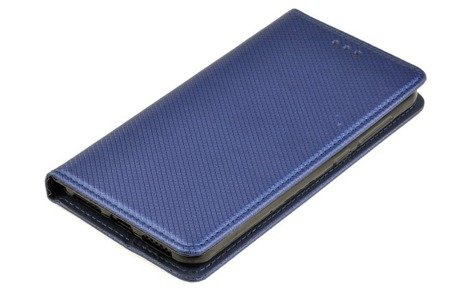 ETUI SMART W2 do HUAWEI Y6II Compact Y5II niebieski
