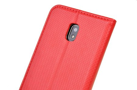 ETUI SMART do SAMSUNG GALAXY J3 2017 J330 czerwony