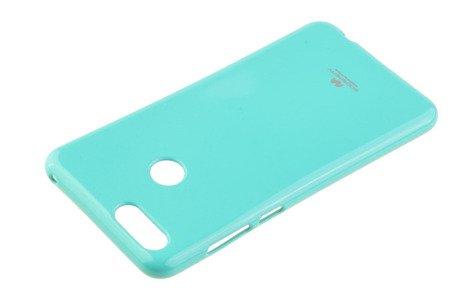 Etui Mercury Goosper Jelly Case do Huawei Honor 7X miętowy