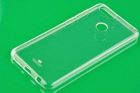 Etui Mercury Goosper Jelly Case do Huawei Honor 7X przezroczysty