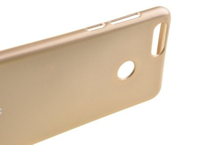 Etui Mercury Goosper Jelly Case do Huawei Honor 7X złoty