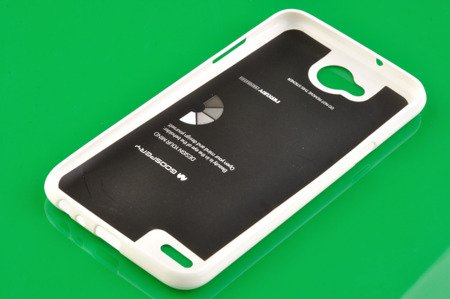Etui Mercury Goosper Jelly Case do LG X POWER 2 biały