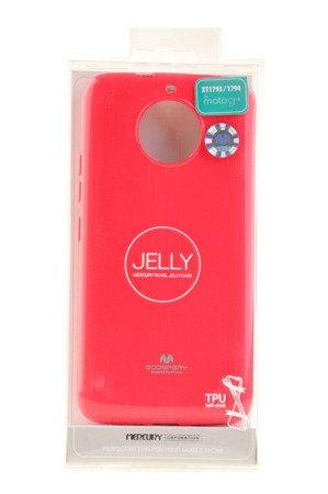 Etui Mercury Goosper Jelly Case do MOTOROLA MOTO G5S różowy