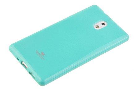 Etui Mercury Goosper Jelly Case do Nokia 3 miętowy