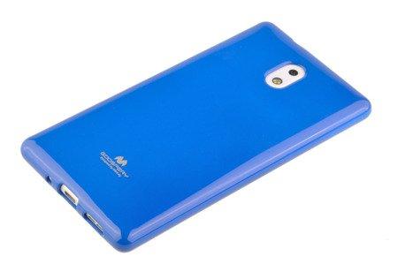 Etui Mercury Goosper Jelly Case do Nokia 3 niebieski
