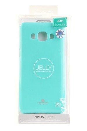Etui Mercury Goosper Jelly Case do SAMSUNG GALAXY J5 2016 miętowy