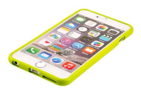 Etui Mercury Goospery Jelly Case do APPLE iPhone 6 Plus / iPhone 6S Plus limonka