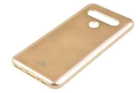 Etui Mercury Goospery Jelly Case do LG K61 / Q61 złoty