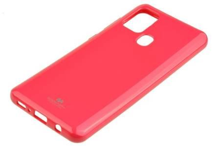 Etui Mercury Goospery Jelly Case do Samsung Galaxy A21s różowy