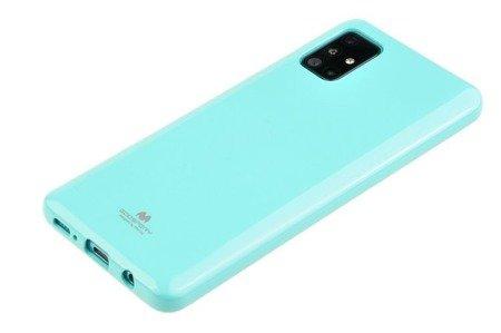 Etui Mercury Goospery Jelly Case do Samsung Galaxy A31 miętowy