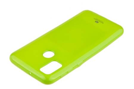 Etui Mercury Goospery Jelly Case do Samsung Galaxy M21 / M30s limonka