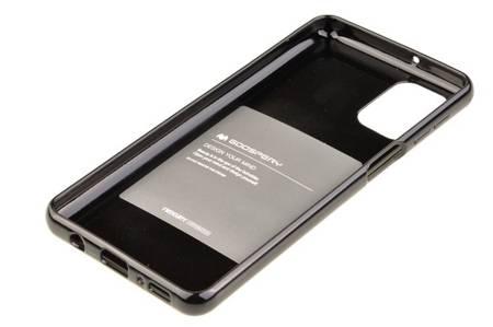 Etui Mercury Goospery Jelly Case do Samsung Galaxy M31s czarny