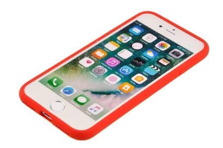 Etui Mercury Goospery Silicone do iPhone 7 / 8 / SE 2020 czerwony