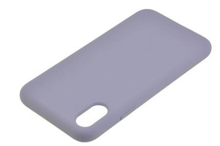 Etui Mercury Goospery Silicone do iPhone X / XS fioletowy