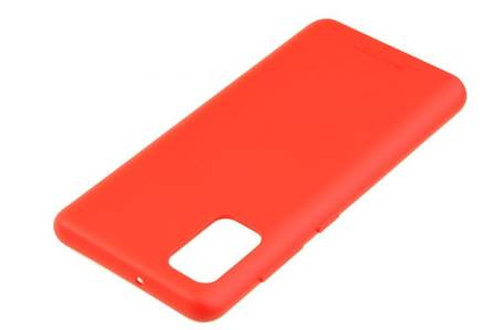 Etui Mercury Goospery Soft Feeling do Samsung Galaxy A41 czerwony