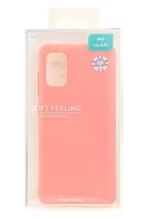 Etui Mercury Goospery Soft Feeling do Samsung Galaxy A41 różowy