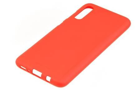 Etui Mercury Goospery Soft Feeling do Samsung Galaxy A70 czerwony