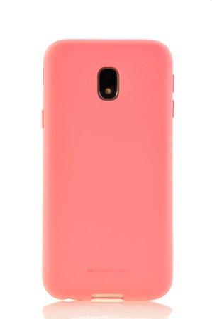 Etui Mercury Goospery Soft Feeling do Samsung Galaxy J3 2017 J330 różowy