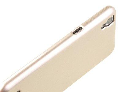 Etui Mercury Goospery iJelly Case do LG X POWER złoty