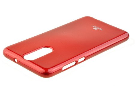 Etui Nakładka Mercury Goospery Jelly Case do HUAWEI Mate 10 Lite czerwony