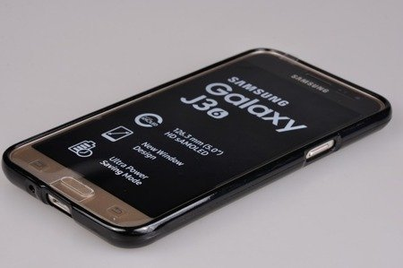 Etui Nakładka Mercury Goospery Jelly Case do SAMSUNG GALAXY J3 2016 J320 czarny