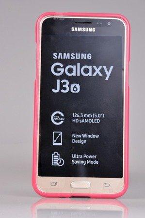 Etui Nakładka Mercury Goospery Jelly Case do SAMSUNG GALAXY J3 2016 J320 różowy