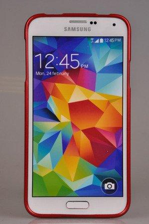 Etui Nakładka Mercury Goospery Jelly Case do SAMSUNG GALAXY S5 G900 / S5 NEO G903 czerwony