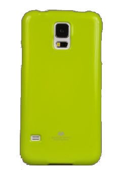 Etui Nakładka Mercury Goospery Jelly Case do SAMSUNG GALAXY S5 G900 / S5 NEO G903 limonka