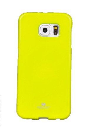 Etui Nakładka Mercury Goospery Jelly Case do SAMSUNG GALAXY S6 G920 limonka