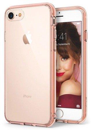 Etui Nakładka Ringke Fusion do APPLE IPHONE 7 Plus /  IPHONE 8 Plus  rose gold