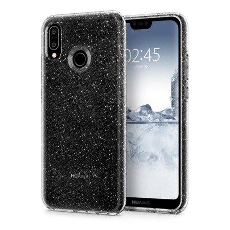 Etui Nakładka Spigen Liquid Crystal Glitter Crystal Quartz do HUAWEI P20 Lite / nova 3e przezroczysty