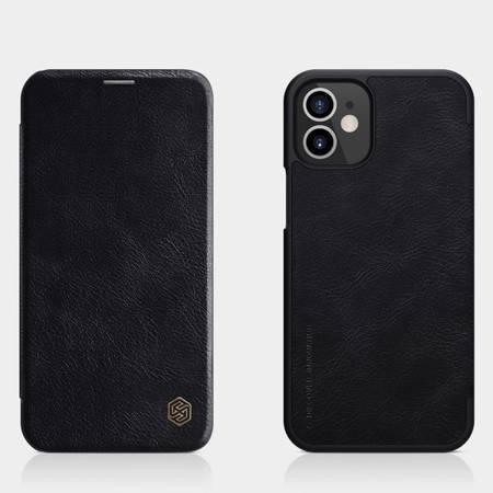 Etui Nillkin Qin case do Apple iPhone 12 Mini czarny