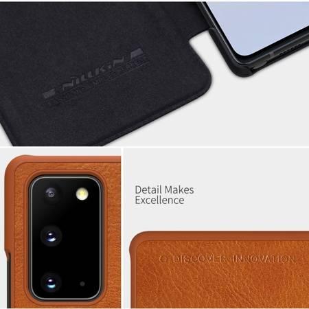 Etui Nillkin Qin leather case do Samsung Galaxy Note 20 czarny