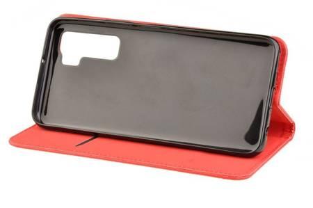 Etui Smart do Huawei P40 Lite 5G czerwony