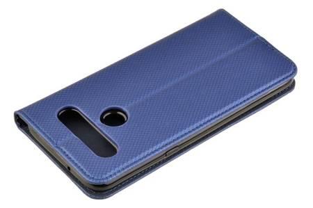 Etui Smart do LG K61 niebieski