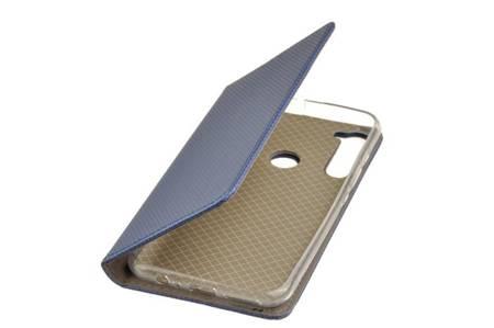 Etui Smart do Motorola One Fusion Plus niebieski