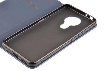 Etui Smart do Nokia 3.4 niebieski