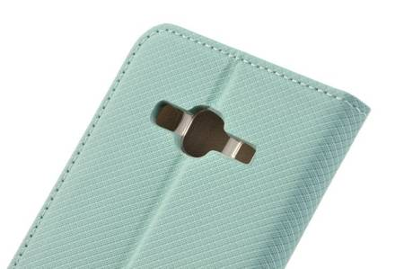 Etui Smart do SAMSUNG GALAXY J3 2016 J320 miętowy
