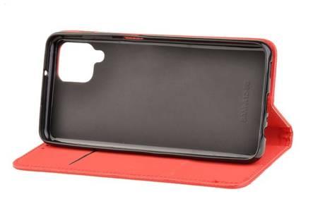 Etui Smart do Samsung Galaxy A12 czerwony